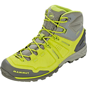 Mammut Alnasca Pro Mid GTX Shoes Herren sprout-grey